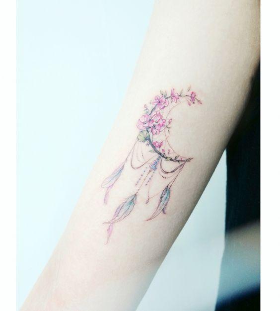 Tatuaż łapacz Snów 16 Pięknych Tatuaży Z łapaczami Snów