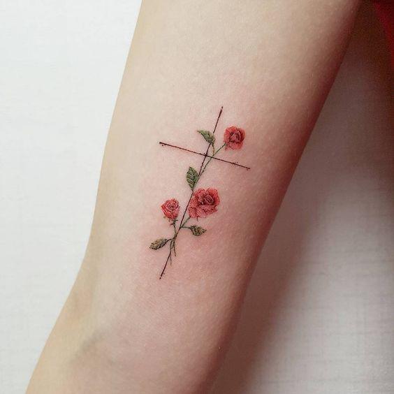 religijne tatuaże