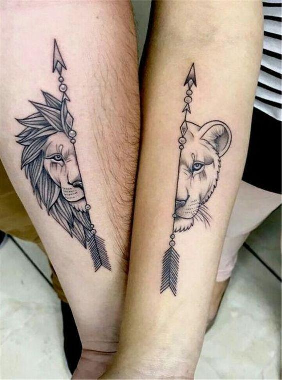 Tatuaż Dla Par 13 Pomysłów Na Wspólne Tatuaże