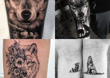 Wilk Znaczenie Tatuażu Wzory Tatuaży