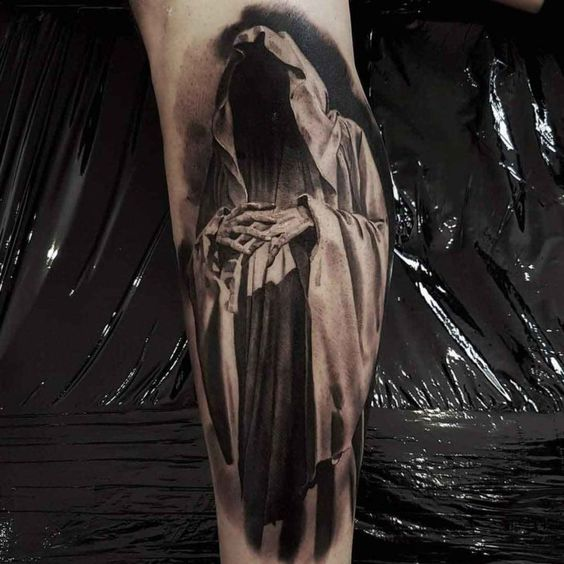 Tatuaż śmierć 13 Tatuaży Obrazujących śmierć