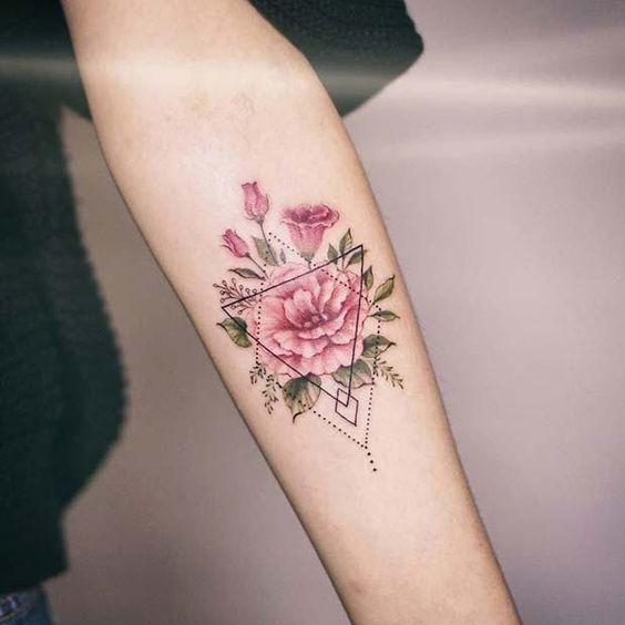 tatuaże geometryczne