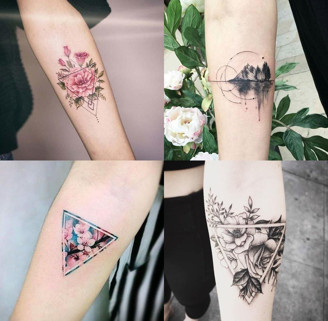 Tatuaże Geometryczne Znaczenie I 8 Przykładów